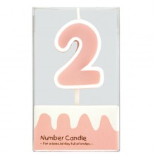 "Number Candle ""2"""