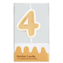 "Number Candle ""4"""