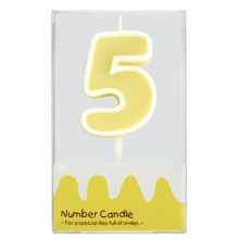 "Number Candle ""5"""